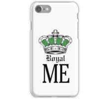Royal Me - Green iPhone Case/Skin