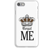 Royal Me - Brown iPhone Case/Skin