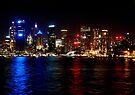 Sydney night sky by Paige
