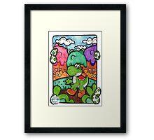 Yo-Yoshi!! Framed Print