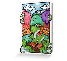 Yo-Yoshi!! Greeting Card