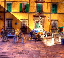 THE WATER FOUNTAIN LUCCA by clint hudson