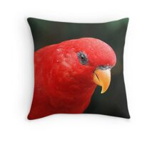 Birds Park Throw Pillow