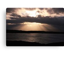 Rays of God Canvas Print