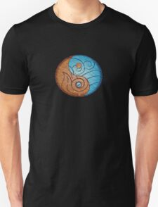 Avatar, Fire and Water symbols. T-Shirt