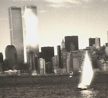 IN MEMORY OF THE TWIN TOWERS 9/11/2001 by JAYMILO