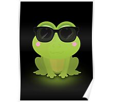 Cool Frog Poster