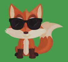 Cool Fox One Piece - Short Sleeve