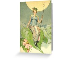 fairy queen by chester loomis Greeting Card