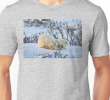 Yoga Bear twist Unisex T-Shirt