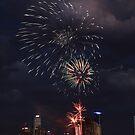 Docklands fireworks by david gilliver