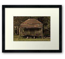 Grumpy Old House Framed Print