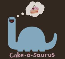 Cake-o-saurus DX by DinobotTees
