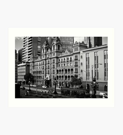 The Windsor Hotel - Melbourne Art Print