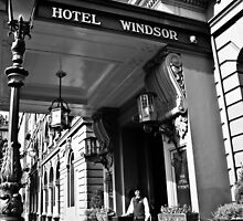 The Windsor Hotel Doorman - Melbourne by skyebelle