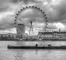 London Eye by Darren Bell