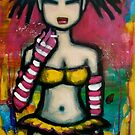 Lil' Gyoza Jo #1- aka Smokey by Laurie Lou McKern