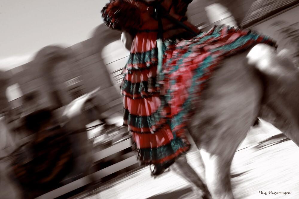 Elegant spanish swirl by Mag Huybreghs