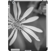 Yellow to Black and White iPad Case/Skin