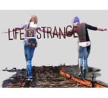 Railroad (Life is Strange) Photographic Print