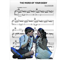The Word of Your Body - Spring Awakening Poster