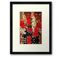 Roses Forever Framed Print