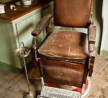 0051 The Old Barber's Chair by DavidsArt