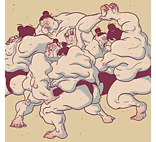 Sumo Photographic Print