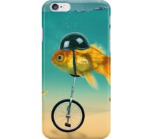 gold fish 3 iPhone Case/Skin