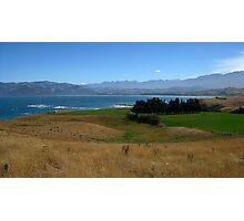 Sky Peaks Sea Land Photographic Print