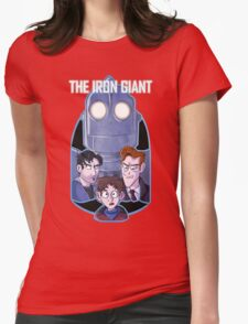 The Iron Giant Womens Fitted T-Shirt