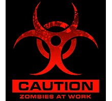 Zombies at Work Photographic Print