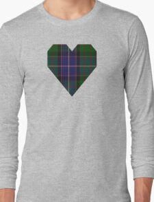 00117 Ontario (District) Tartan  Long Sleeve T-Shirt