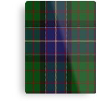 00117 Ontario (District) Tartan  Metal Print