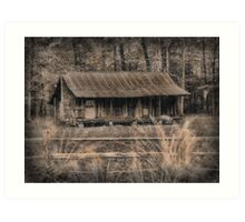 The Old Home Place Art Print