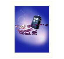 Wibbly-wobbly... timey-wimey... stuff. - Doctor Who Art Print