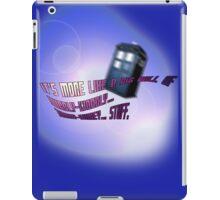 Wibbly-wobbly... timey-wimey... stuff. - Doctor Who iPad Case/Skin