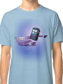Wibbly-wobbly... timey-wimey... stuff. - Doctor Who Classic T-Shirt