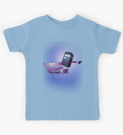 Wibbly-wobbly... timey-wimey... stuff. - Doctor Who Kids Tee