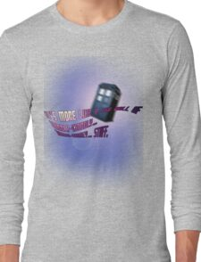 Wibbly-wobbly... timey-wimey... stuff. - Doctor Who Long Sleeve T-Shirt