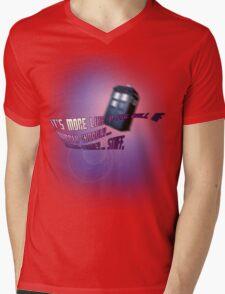 Wibbly-wobbly... timey-wimey... stuff. - Doctor Who Mens V-Neck T-Shirt