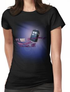 Wibbly-wobbly... timey-wimey... stuff. - Doctor Who Womens Fitted T-Shirt