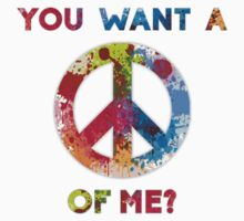 You Want a Peace of Me? Baby Tee