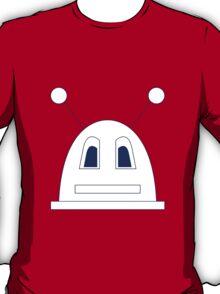 Robot (Navy) Filled face T-Shirt