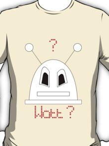 Robot (Watt? Angry eyes) Filled face T-Shirt