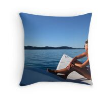 Sea Gazer Throw Pillow