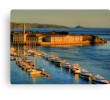 Gulliver's Travels to The Royal William Yard Canvas Print