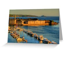 Gulliver's Travels to The Royal William Yard Greeting Card