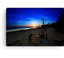 to the  start of a new day Canvas Print