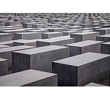 Holocaust Memorial, Berlin, Germany Photographic Print